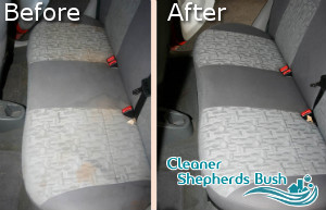 Car Upholstery Cleaning Shepherds Bush