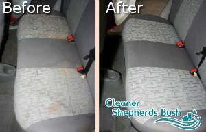 Car Upholstery Cleaning Shepherds Bush